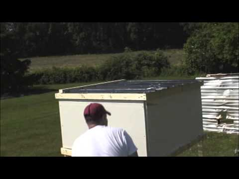 Fire Testing Corrugated Sunsky Polycarbonate Roofing - YouTube