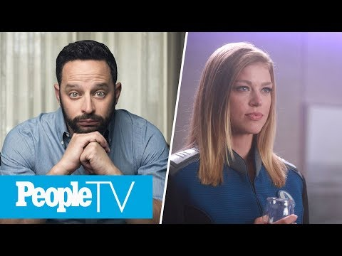 Nick Kroll Talks 'Big Mouth', The Orville's Adrianne Palicki On Space  EWS  Entertainment Weekly