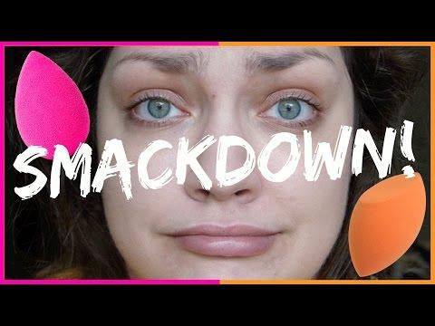 SPONGE SMACKDOWN! Beauty Blender VS Real Techniques
