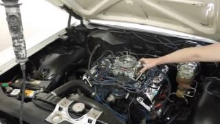 1967 Ford Galaxie 500 XL engine startup demo