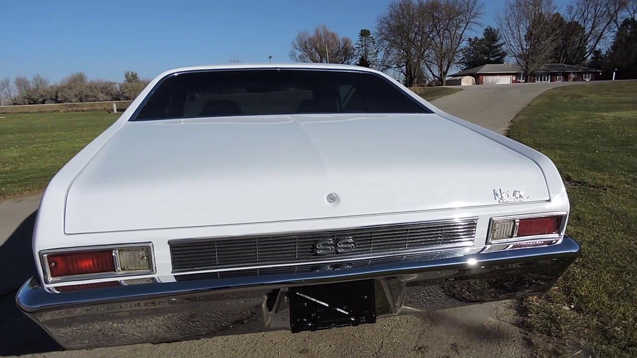 1969 Chevy Nova White Ss For Sale At Www Coyoteclassics Com