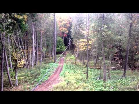 Zip lining at Treetop Eco Adventure Park - I Will Travel