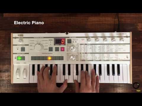 KORG microKORG S #1   Play Presets Sound