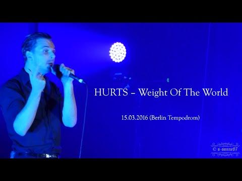 HURTS – Weight Of The World (Tempodrom Berlin – 15.03.2016)
