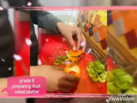Fruit Salad Making Competition - The Knowledge City School