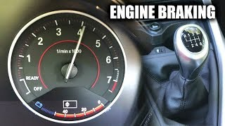 Is It Bad To Engine Brake With A Manual Transmission?