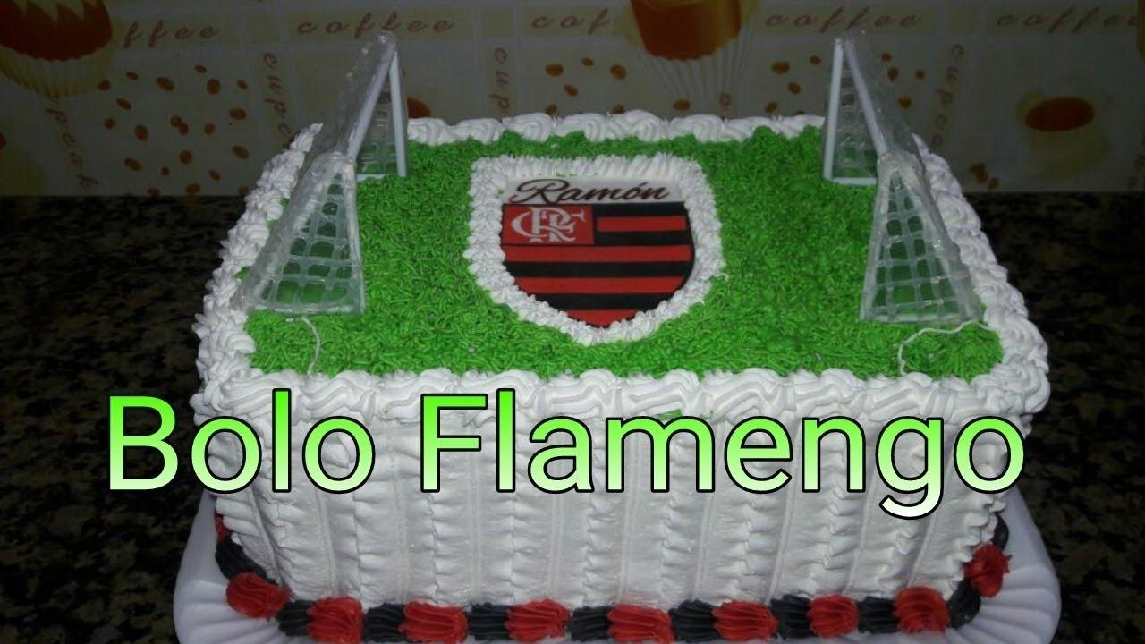 Bolo Flamengo - YouTube f668291b48f7e