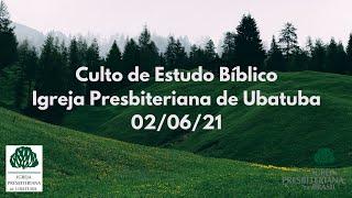 Estudo bíblico - Igreja Presbiteriana de Ubatuba