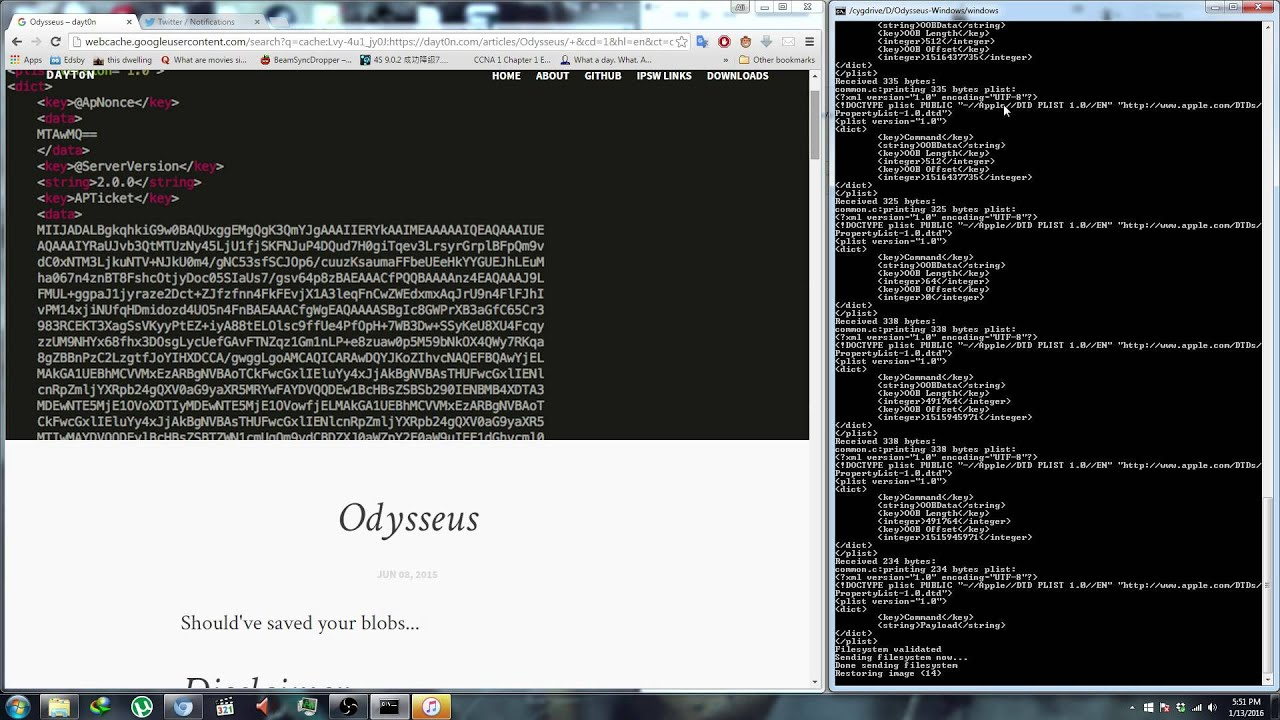 odysseus running on windows youtube