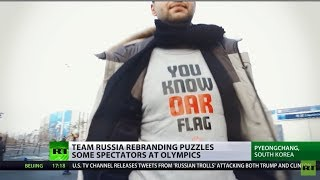R-OAR: Russian designers outsmart IOC's language sanctions