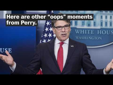 Rick Perry was tricked by Russian pranksters. This isn't his first 'oops' moment.