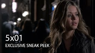 "Pretty Little Liars 5x01 EXCLUSIVE Sneak Peek #2 - ""EscApe From New York"" - Season 5 Episode 1"