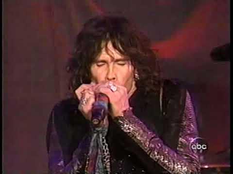 Aerosmith - Baby, Please Don't Go - ABC Rockin' New Year's Eve 2004 Live TV Great Performance