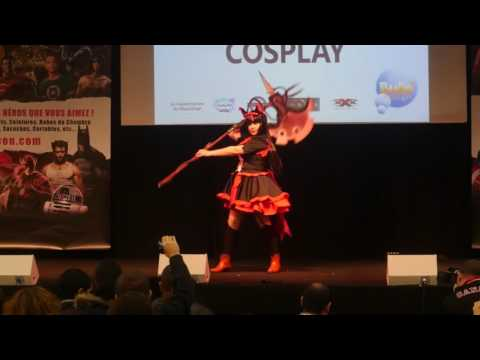 related image - Paris Manga 22 - Concours Cosplay Dimanche - 11 - Gate - Rory