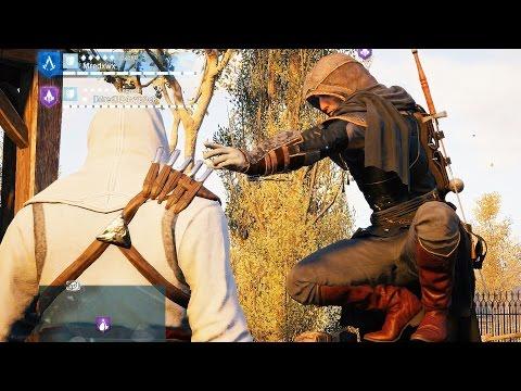 Assassin's Creed Unity Co OP Free Roam & Combat