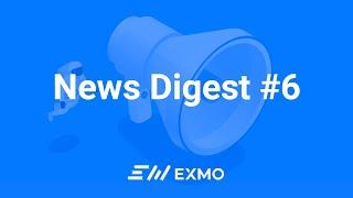 Bitcoin обвалится после халвинга? Открытие криптобанка   EXMO News Digest #6