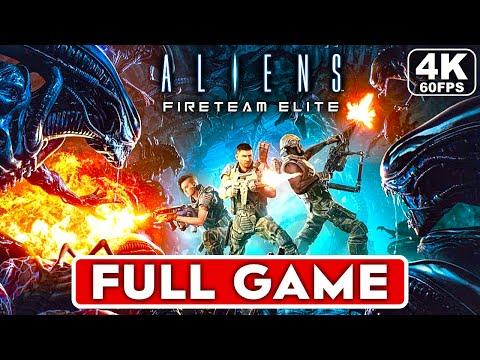 ALIENS FIRETEAM ELITE Gameplay Walkthrough Part 1 FULL GAME [4K 60FPS PC] - No Commentary