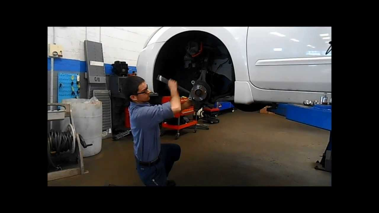 how to change your left wheel bearing from kelly honda [ 1280 x 720 Pixel ]