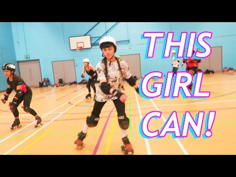 I tried Roller Derby and I'm in a movie!?