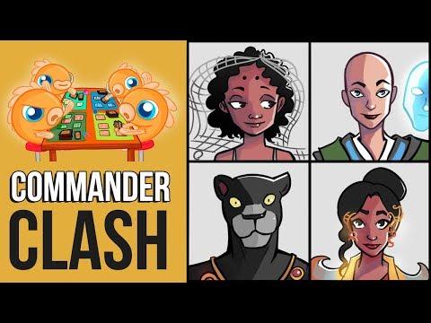 Commander Clash S6 E3: Commander 2018! (Aminatou vs. Estrid vs. Saheeli vs. Windgrace)