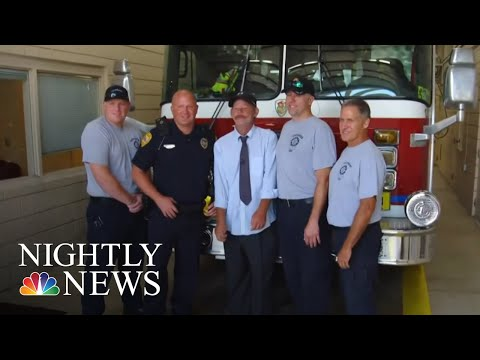 Police Officer's Viral Act Of Kindness Inspires Many | NBC Nightly News