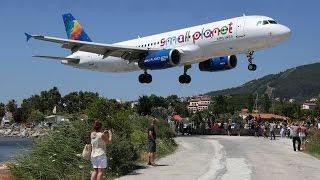 Spectacular LOW Landings at Skiathos - European St. Maarten