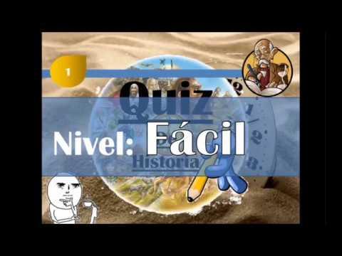 ¿¿Cuanto sabes de Historia?? -----Quiz histórico----------Nivel Fácil 1