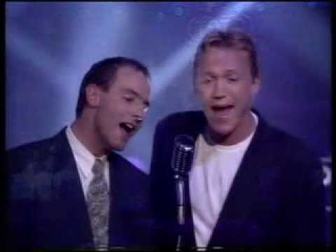 Robson and Jerome - Unchained Melody - Top of the Pops original broadcast.