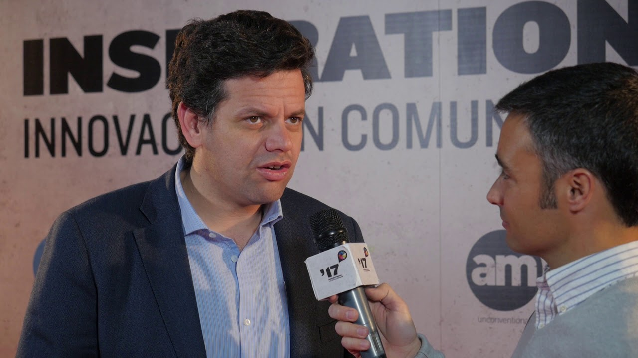 Festival Inspirational 2017: Entrevista a Toño Sangrador, Atresmedia