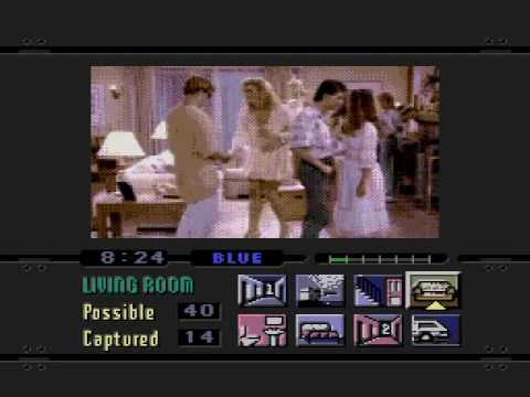 Night Trap Sega CD Party Scene Night Trap Song