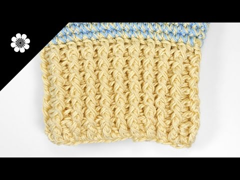 ELASTIC STITCH IN CROCHET (two options) | Patrones Valhalla ENG