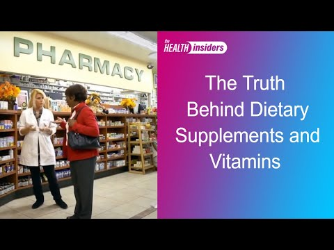 Dietary Supplements and Vitamins, Do They Really Work?
