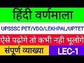 हिंदी वर्णमाला संपूर्ण  hindi varnmala | | स्वर व्यंजन,हिंदी वर्णमाला स्वर एवं व्यंजन के भेद