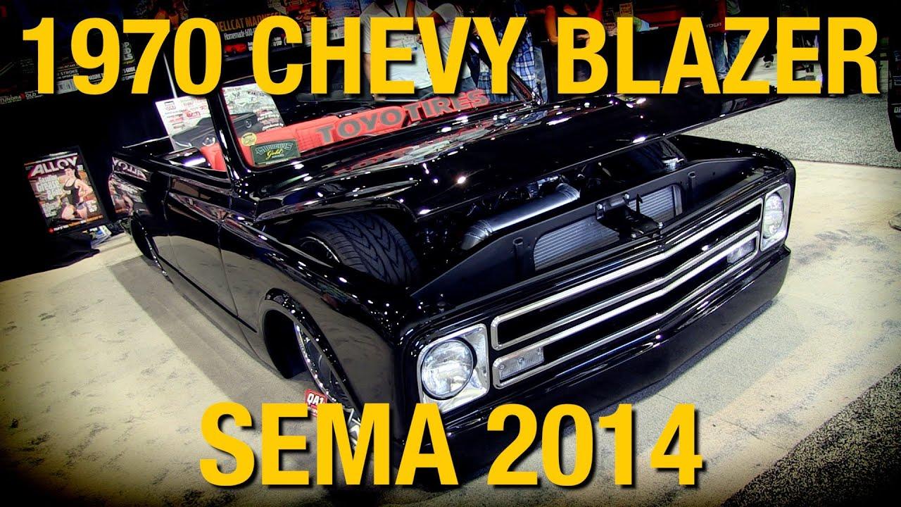 """Chevy Blazer 2015 >> Slammed 1970 Chevy Blazer """"Mary Jane"""" at SEMA 2014 - Eastwood - YouTube"""