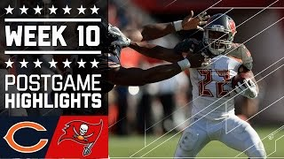 Bears vs. Buccaneers | NFL Week 10 Game Highlights