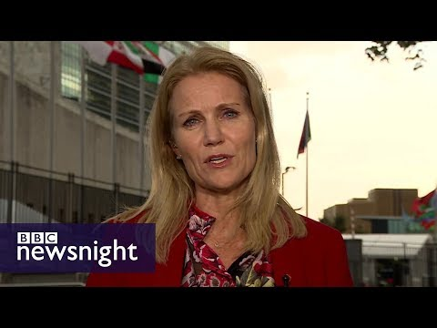 'We must protect Myanmar's Rohingya children': Helle Thorning-Schmidt - BBC Newsnight