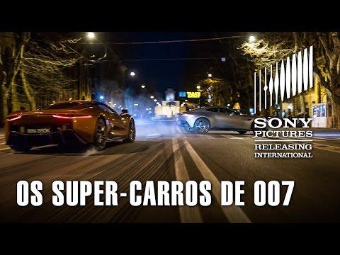 Os super-carros de 007 CONTRA SPECTRE em ação! (Legendado)