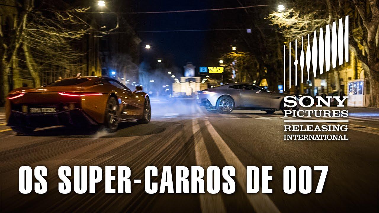 Os Super Carros De 007 Contra Spectre Em Acao Legendado Youtube