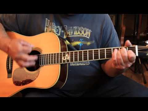 How to play the chord intro to Blue Sky by the Allman Brothers Band(Dickey Betts!)