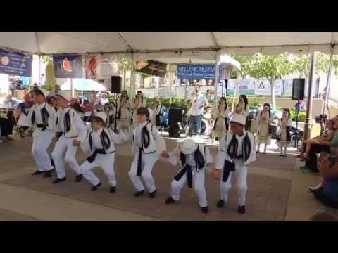 "Temecula Greek Festival ~ 2016, Performance by ""Ta Pedakia & Evdokia""!!"