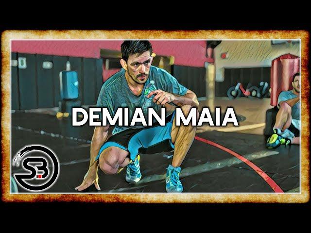 Study of Demian Maias takedown tactics - BJJ in MMA Breakdown