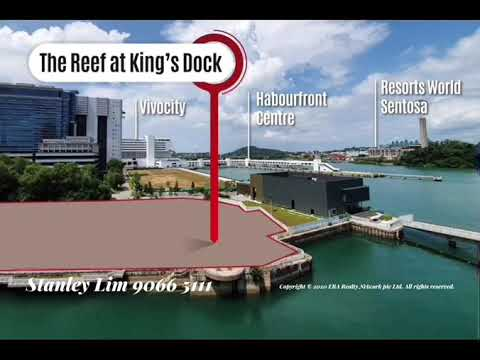 "Waterfron Living  ""The Reef At King's Dock"" 1st Floating Facility Deck in a Residential Development"
