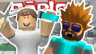 REALLY BAD HAIR DAY!! | Escape The Barber | ROBLOX
