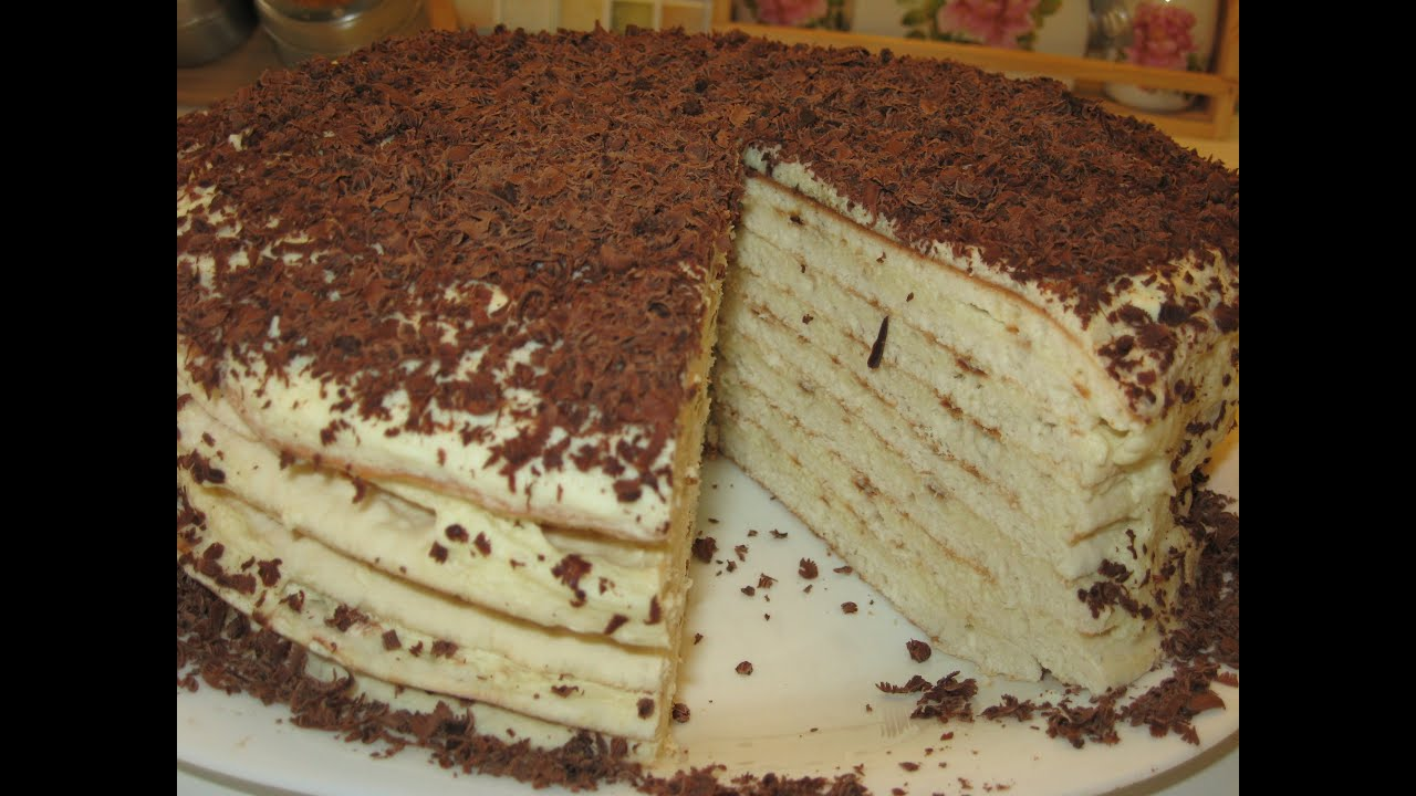 Как печь торт на сковороде