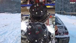 генератор от приоры на ваз 2112 2110 2111 подходит но есть проблема