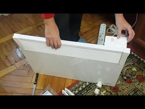 Распаковка конвектора TESY CN 03 150 MIS  из Rozetka.com.ua