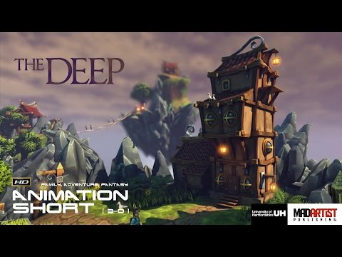 "CGI 3D Animated Short Film ""THE DEEP"". Family Adventure Animation by University of Hertfordshire"