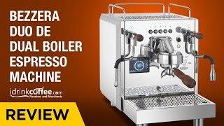 iDrinkCoffee.com Review - Bezzera Duo DE Dual Boiler Espresso Machine