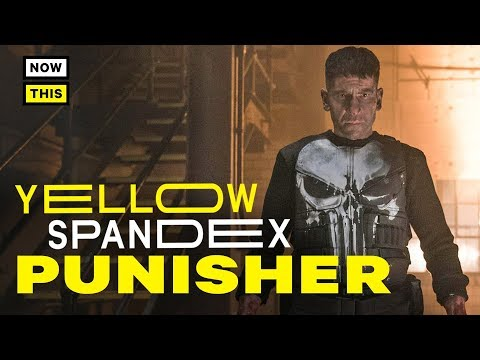 The Design Evolution Of The Punisher | Yellow Spandex #29 | NowThis Nerd