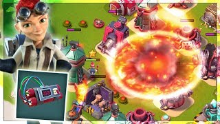 Boom Beach INSANE Level 5 Explosive Charge Gameplay!! (Max Everspark Ability!)